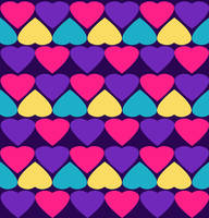 Hearts Pattern Texture by powerpuffjazz