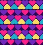 Hearts Pattern Texture