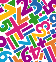 Rainbow Letters Pattern PNG by powerpuffjazz