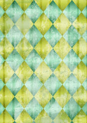 Grunge Diamonds Texture