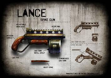 Lance spike gun by soongpa