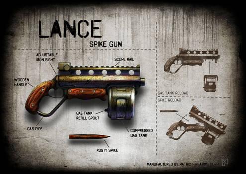 Lance spike gun