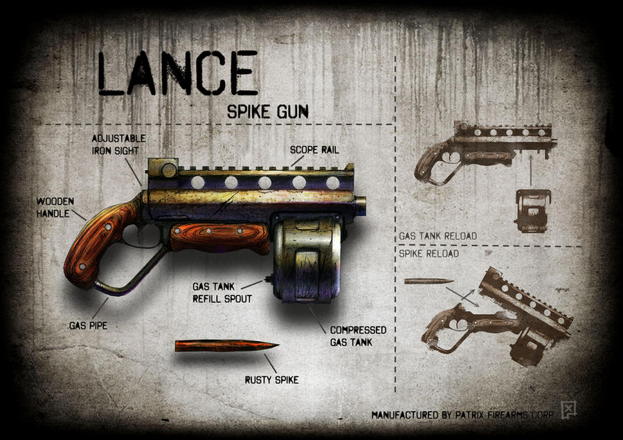 Lance spike gun by soongpa