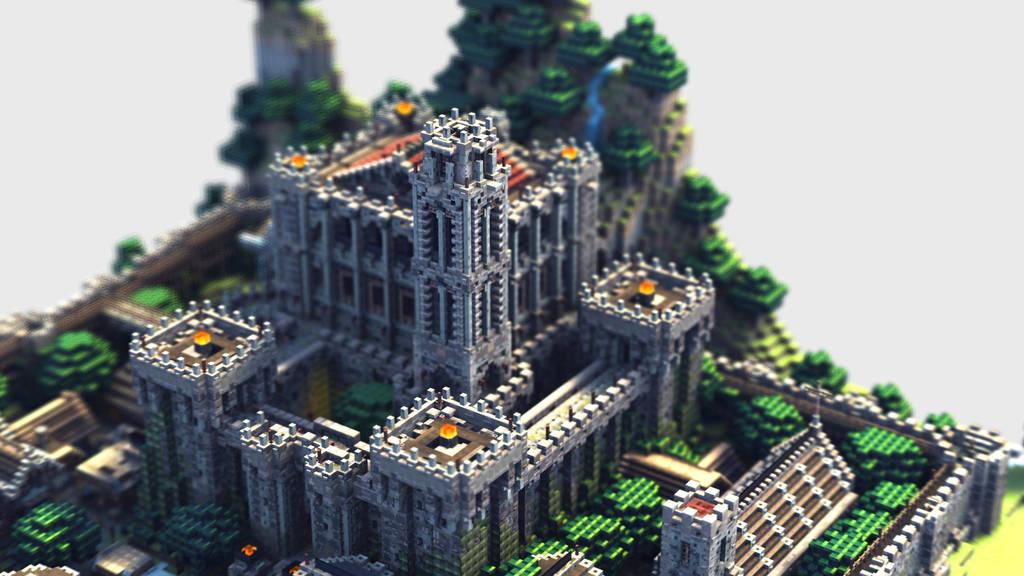 Castle 3D Model by soongpa