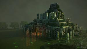 Mayan Temple 3D Model
