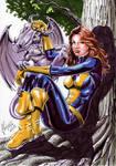 X-men's Shadowcat and Lockheed
