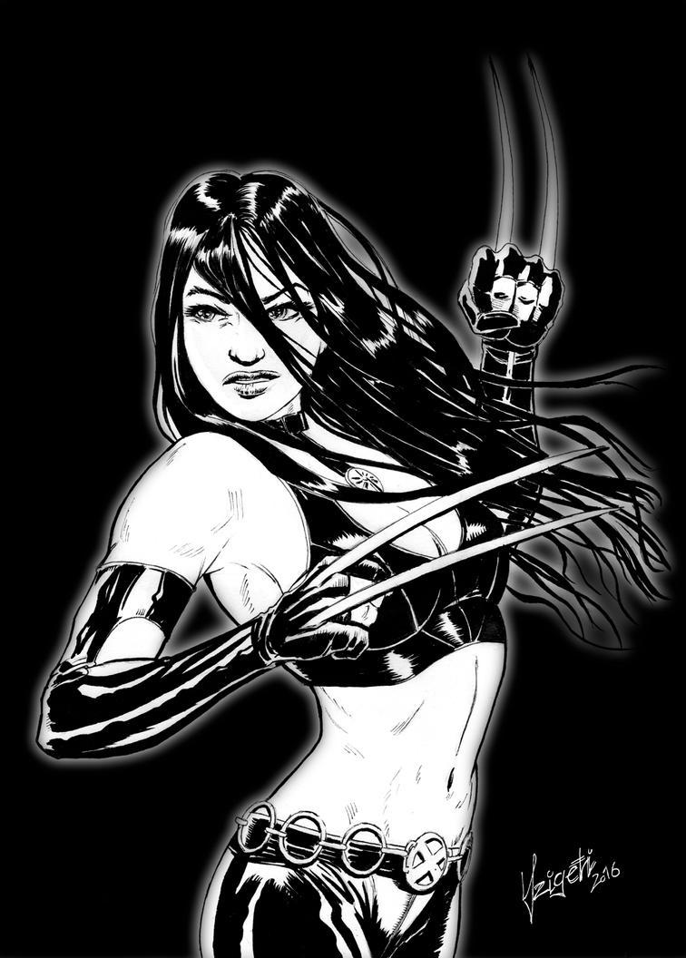 X-23 (Laura Kinney) by Szigeti