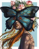 Stranger Butterfly by Hector-Monegro