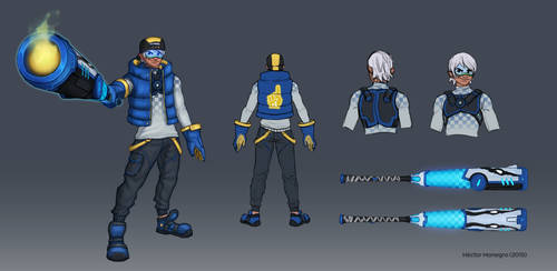 Zack Concept by Hector-Monegro