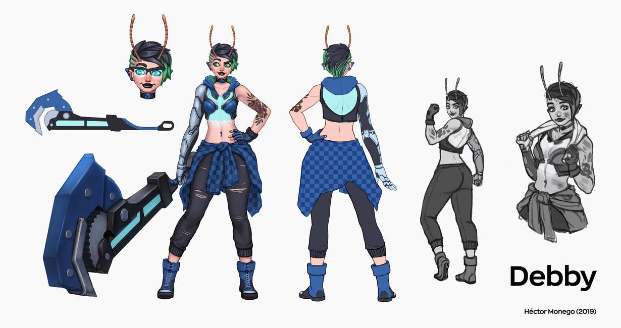 Debby Concept by Hector-Monegro