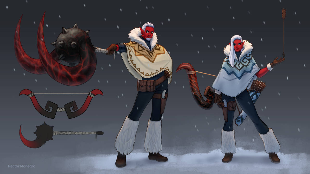 The hunters by Hector-Monegro