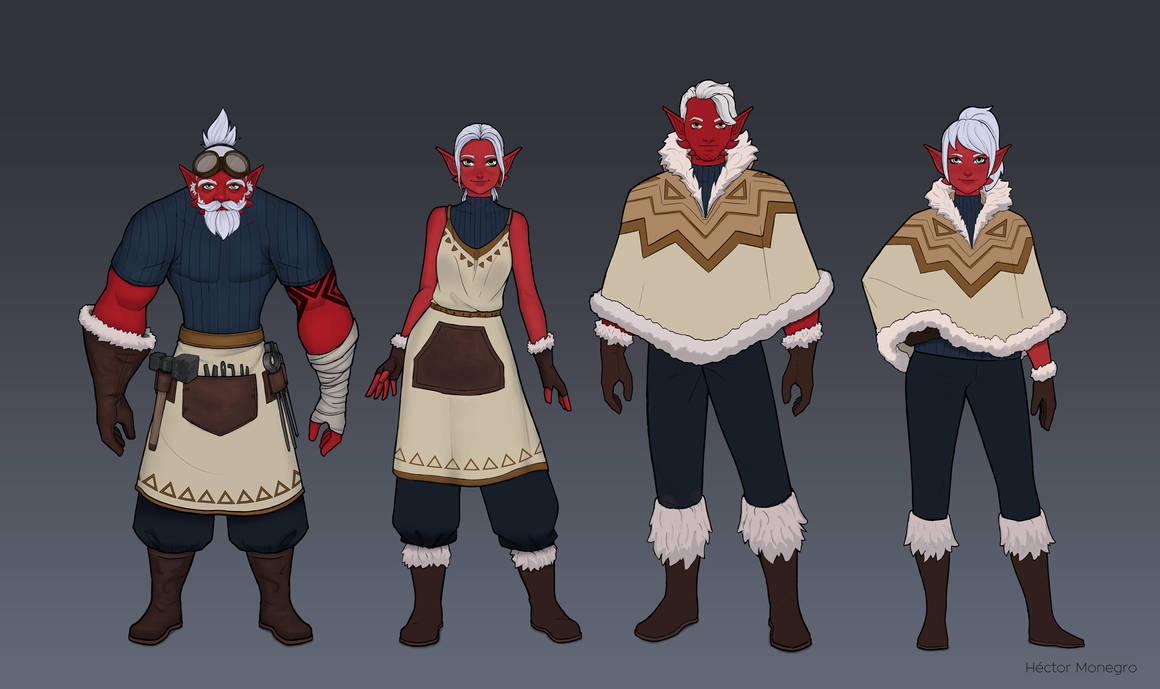 Kaan villager part1 by Hector-Monegro