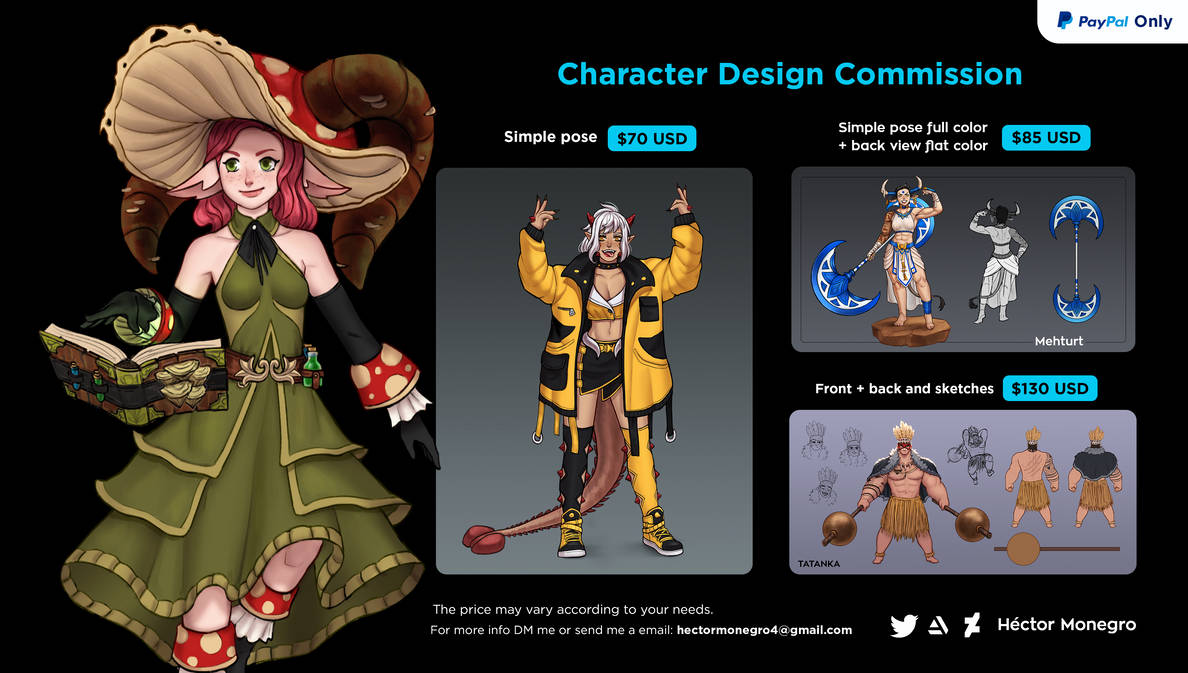 Character Design Commision