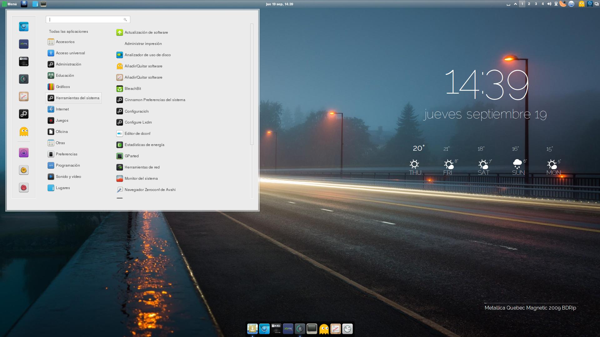 Screenshot Manjaro Linux cinnamon. by jomada74