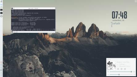 KaOS Plasma 5 desktop December by jomada74