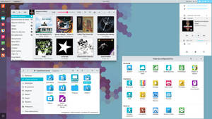 Manjaro Gnome 3.20 desktop, July
