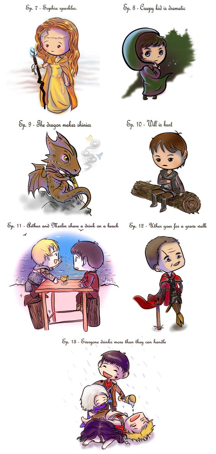 Merlin And Arthur Fan Art