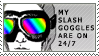 Slash goggles stamp by ginahascrazytoes