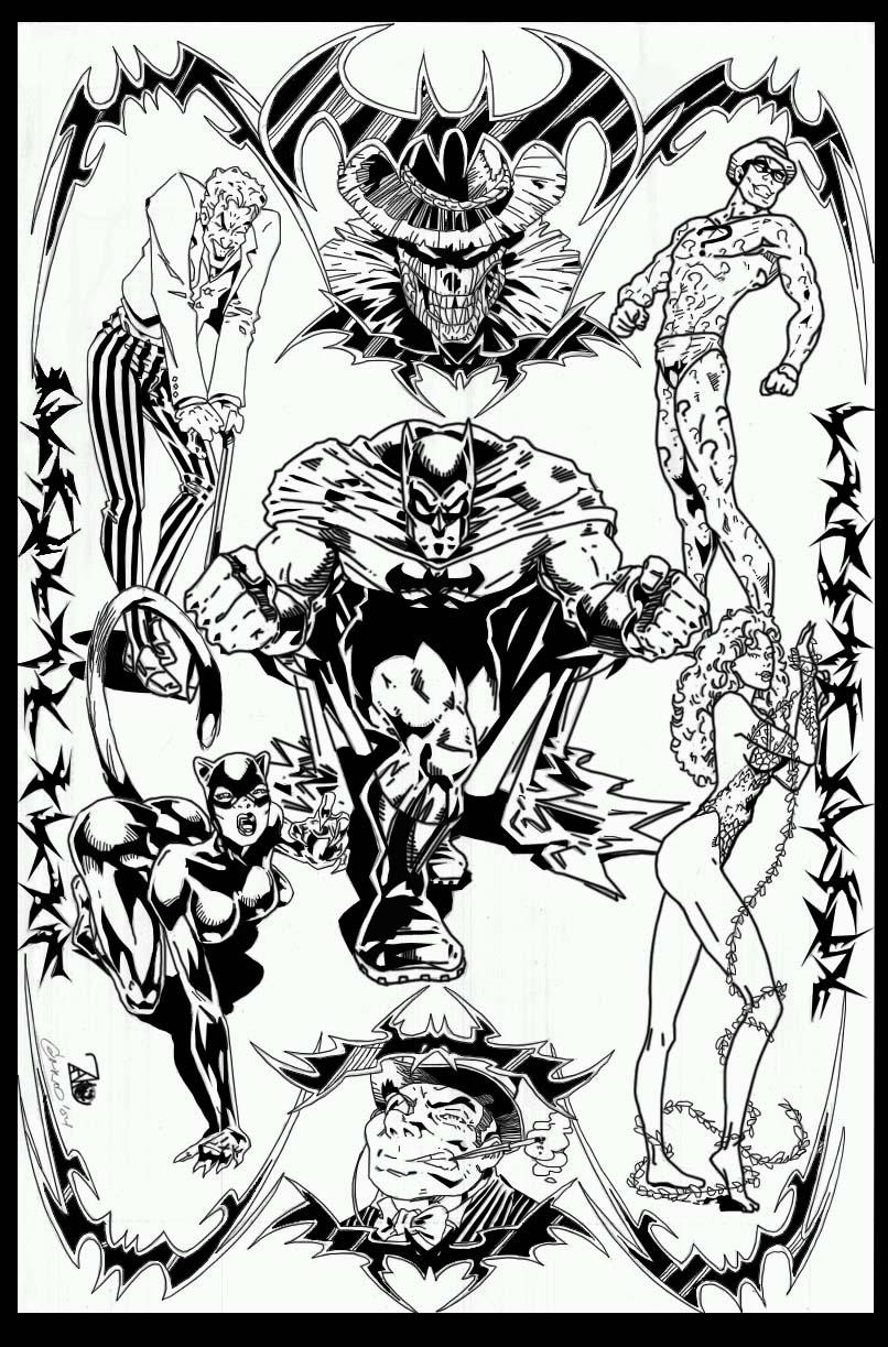 Batman's Rogue Gallery by NewEraStudios
