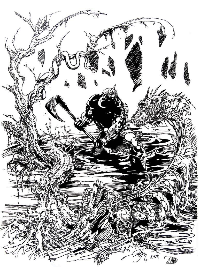 Death Dealer Deadwood by NewEraStudios