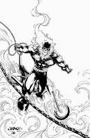 1970 Ghost Rider by Jimbo Salgado by NewEraStudios