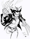 Wolverine Cartoon Sketch by Carlos Gomez