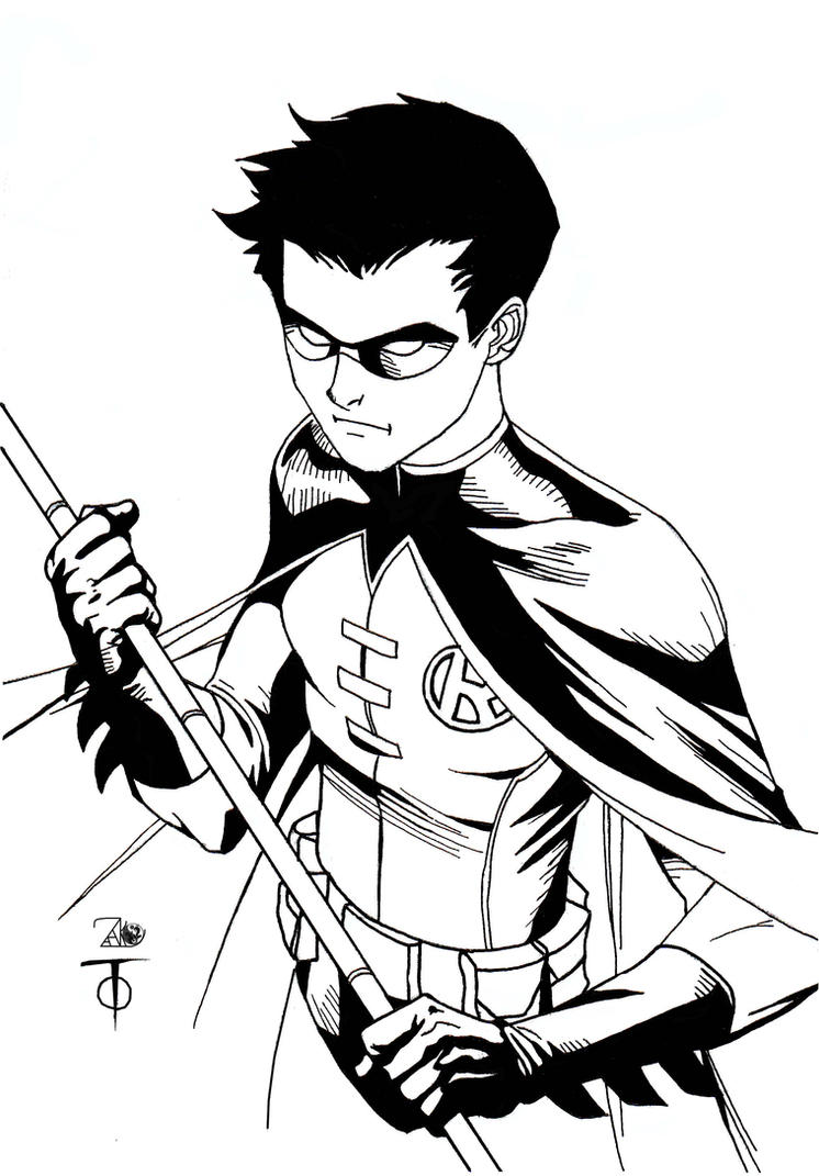 Robin Sketch by Marcus To by NewEraStudios