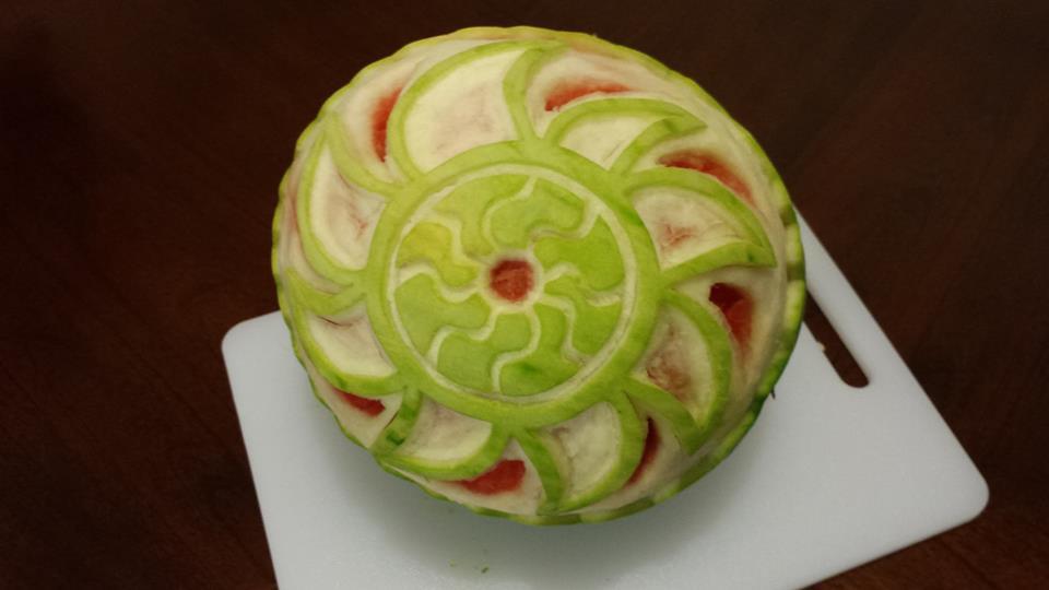 Watermelon Carving 09-19-15 by NewEraStudios