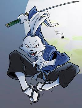 Usagi Yojimbo Colored by Henrique Regis