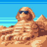 The Sphinx with Sunglasses