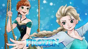 Frozen Queen and Princess