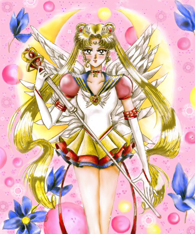 Eternal Sailor Moon With Tier By Aleena On Deviantart