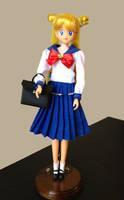 Sailor Moon Usagi SeiFuku Doll by aleena