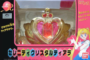 SM R Neo Queen Serenity Crown - Bandai Japan by aleena