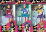 Sailor Moon S Outer Bandai Asia Doll Set