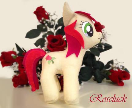 My Little Pony Rose Luck Custom Plush