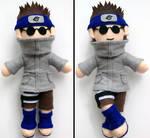 Shino Aburame Naruto Plush doll Commission