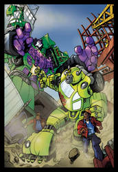 Transformers Building site