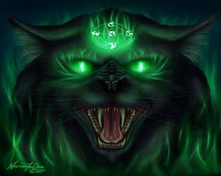 Black Cat by NecrosisTheDark