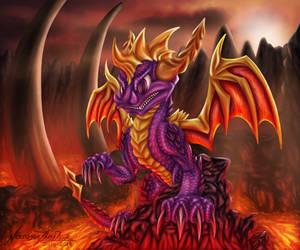 Spyro The Dragon by NecrosisTheDark