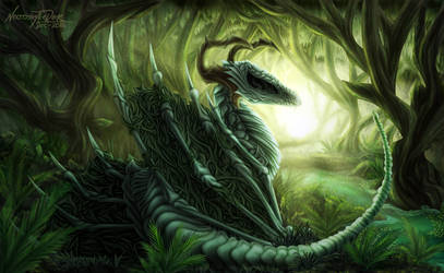 Necro Dragon by NecrosisTheDark
