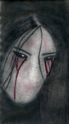 Tears of Blood by Silent-Sam-Scribbles