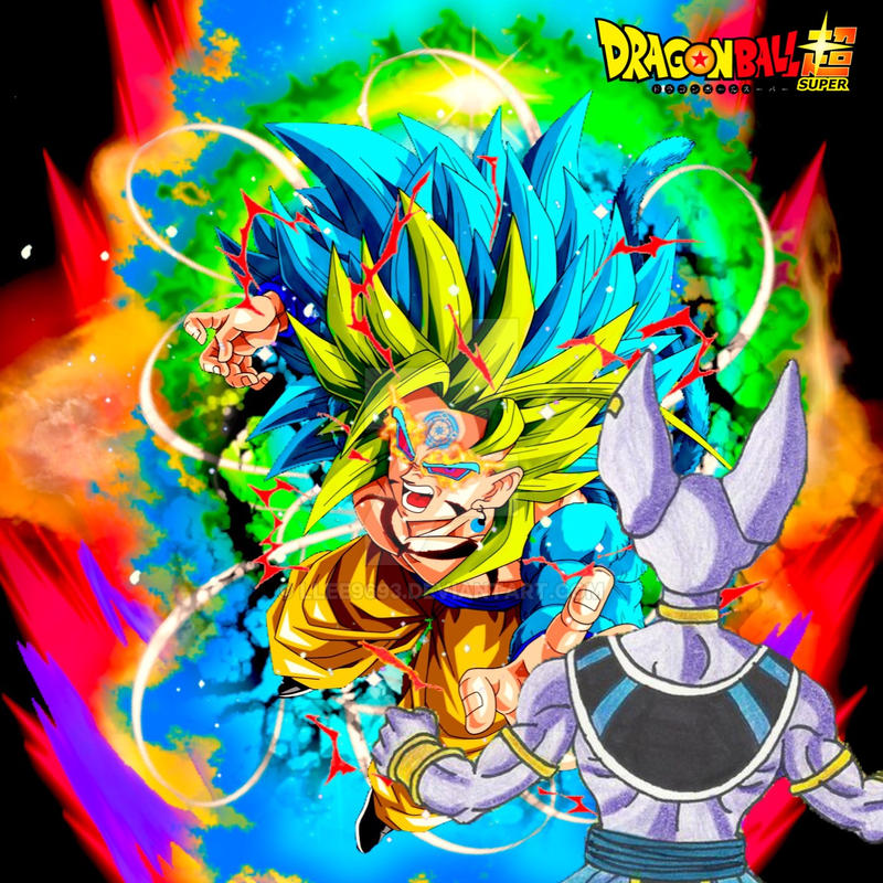 Transcended Crazed Super Saiyan Blue 5 Unleashed by Llee9693