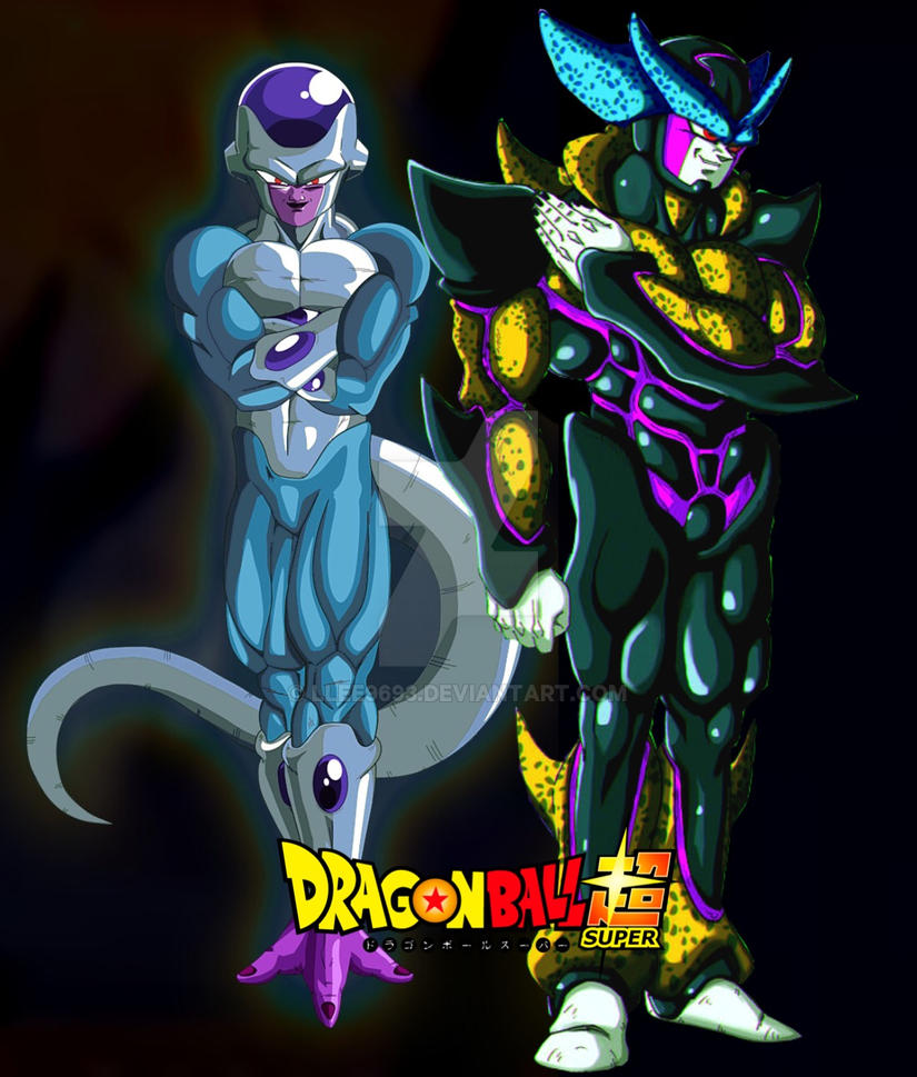 Hyper Perfect Cell and Diamond Frieza by Llee9693