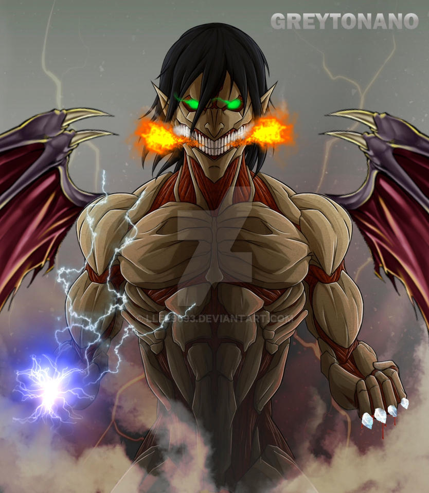 Eren Yaegar, The Ultimate Titan! by Llee9693