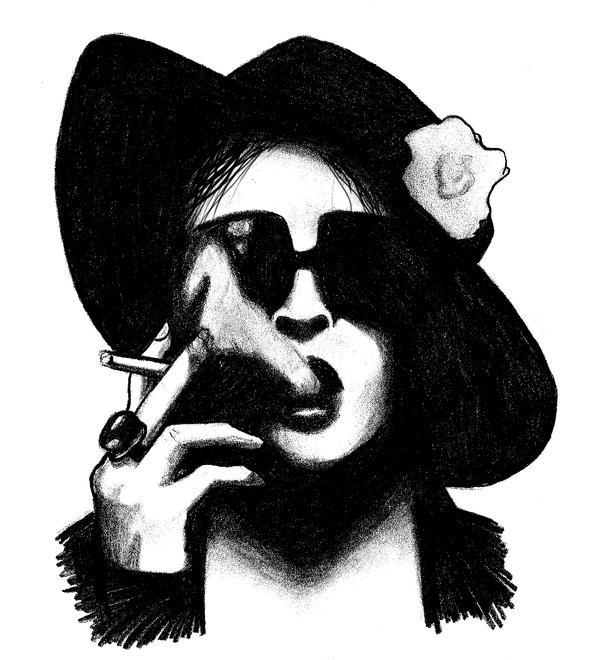 Marla singer stencil