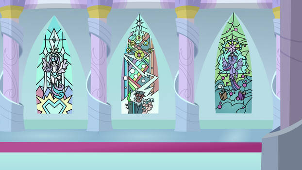 MLP Background.Stained Glasses.