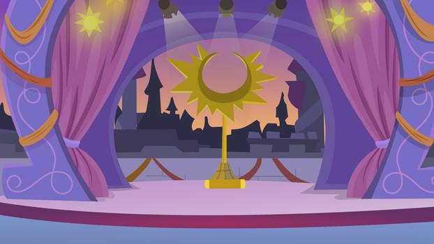 MLP Background.Summer Sun Celebration scene.