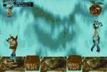 Gameplay Of Crash Bandicoot Sega Genesis Bosses.