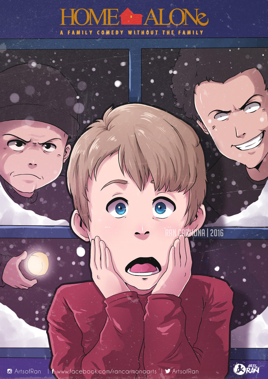 Home Alone Anime By Unluckysaturday On Deviantart